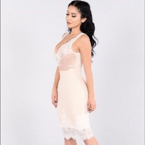Gorgeous Blush Cocktail Dress FashionNova